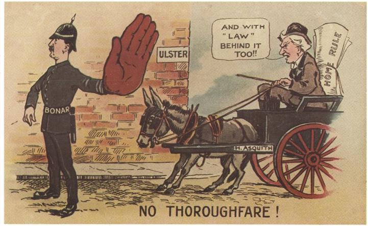 Anti-Home Rule Postcard
