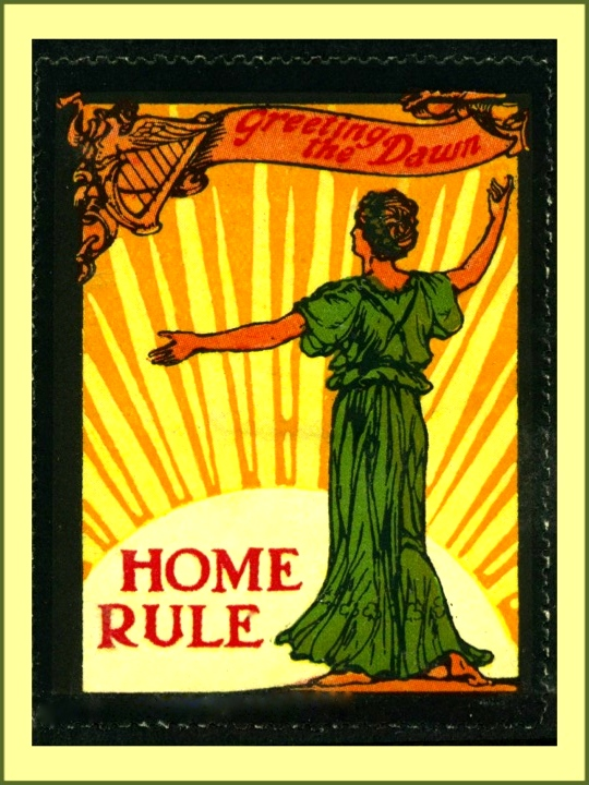 Pro home rule poster.